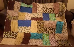 First Rag quilt